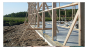 Post Frame-Bracket Foundation